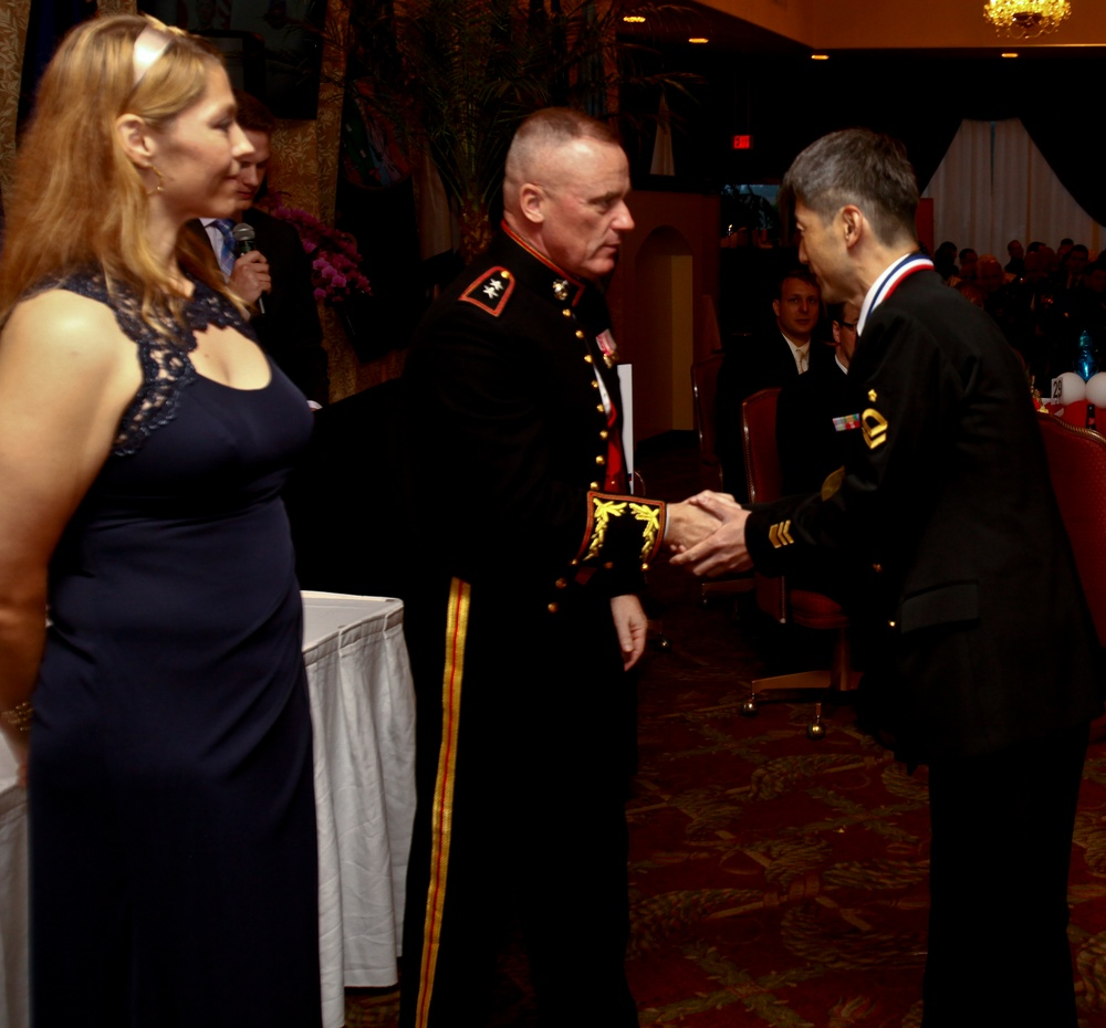 USO awards JSDF, US service members for commitment to community