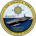 Future carrier USS Gerald R. Ford (CVN 78) official crest