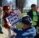 WWII veterans make emotional visit to their memorial in DC