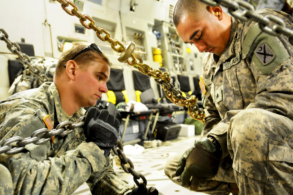 SC National Guard Unit participates in C-17 heavy airlift operations
