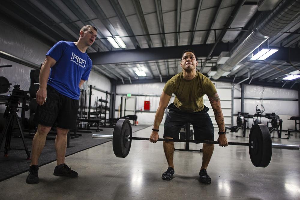 Alaska Guardsmen compete in CrossFit Open
