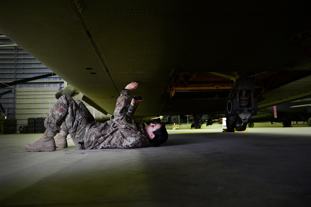 US Air Force 1st Lt. Kelli Walker, battle damage materials scientist