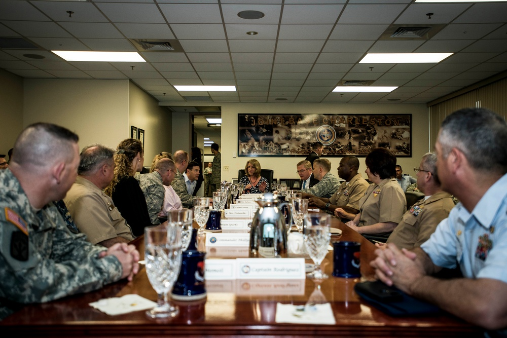 SECAF gets firsthand look at JB Charleston mission