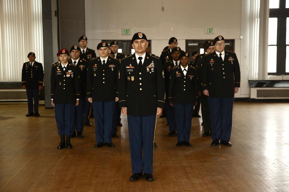 Command sergeant major uniform inspection