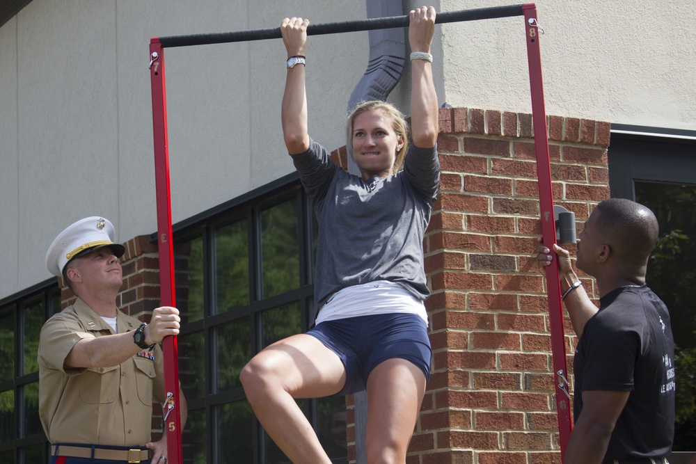 Marine Corps partners with ACC at 2014 Women's Rowing Championship