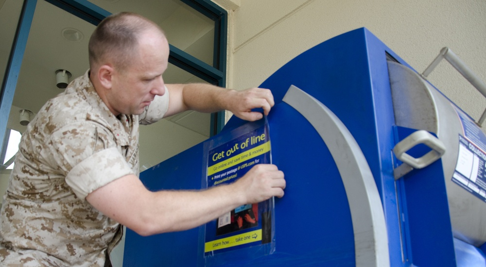 MCB Hawaii modernizes postal operations