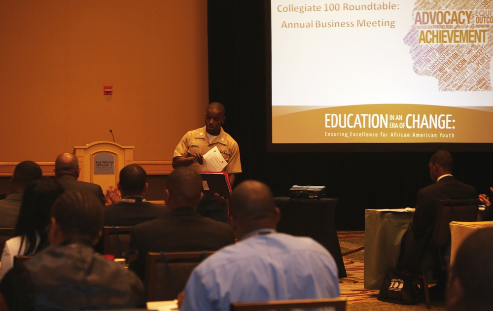Marines and 100 Black Men of America, Inc. Aim to Inspire American Youth