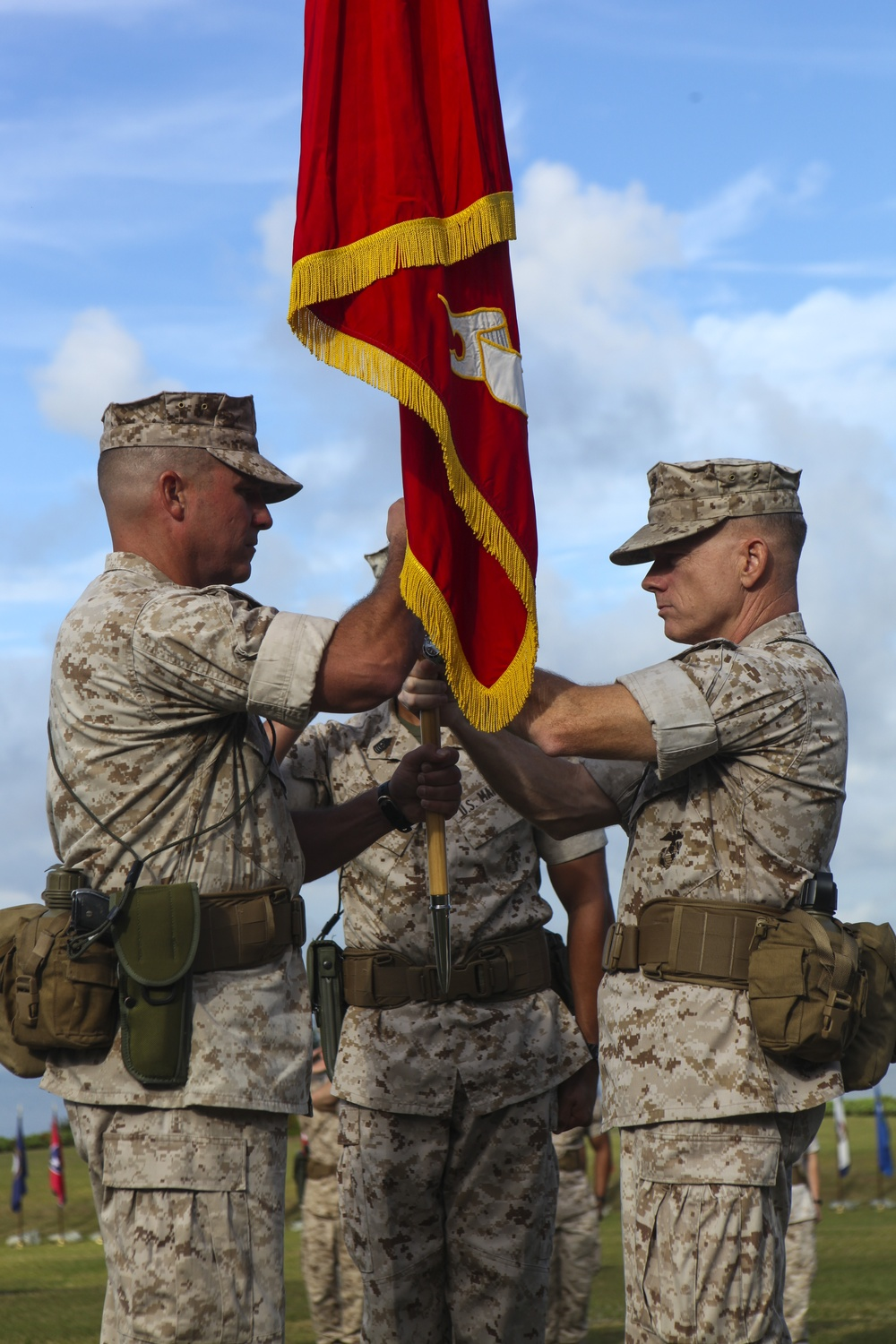CLB-6 welcomes new commanding officer