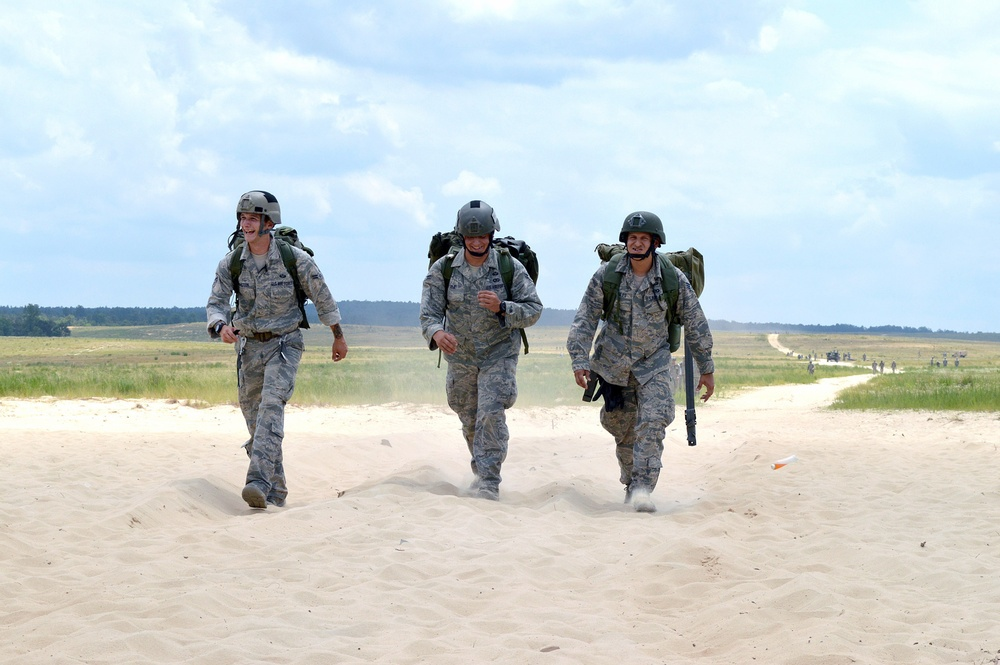 Pope Airmen participate in D-Day jump at Fort Bragg