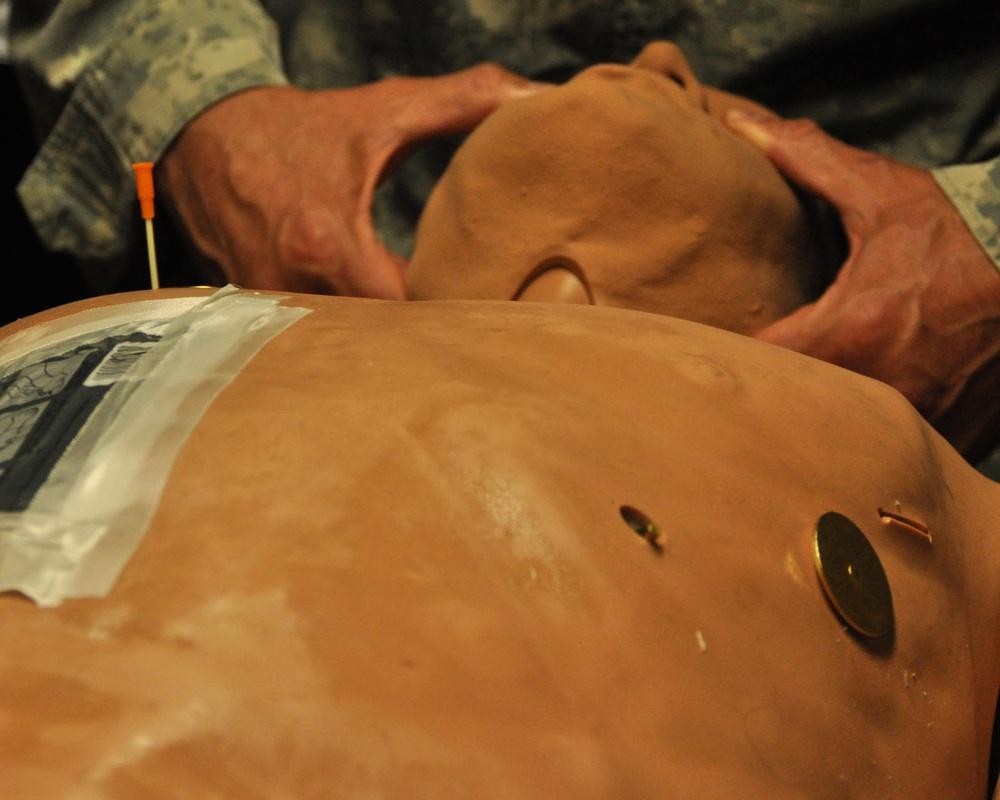 New York National Guard Soldiers hone lifesaving skills