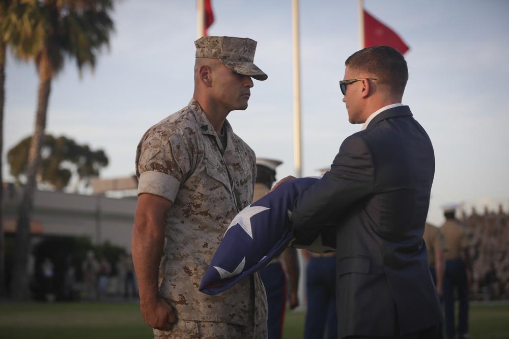 "3rd MAW and MCAS Miramar Honor Medal of Honor Recipient Cpl. William ""Kyle"" Carpenter"