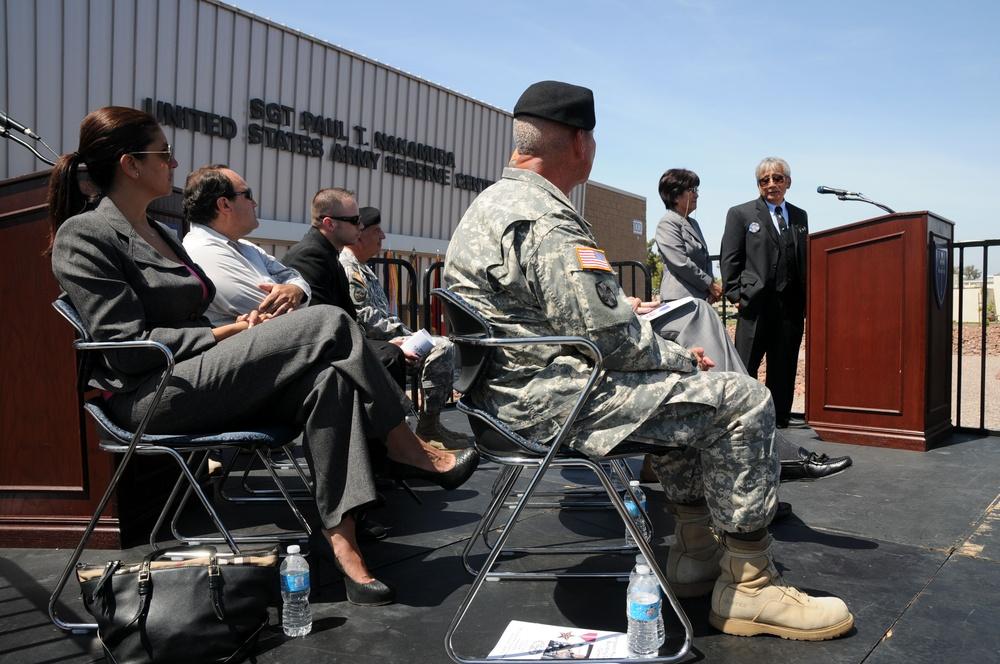 Sgt. Paul T. Nakamura Building Dedication Ceremony