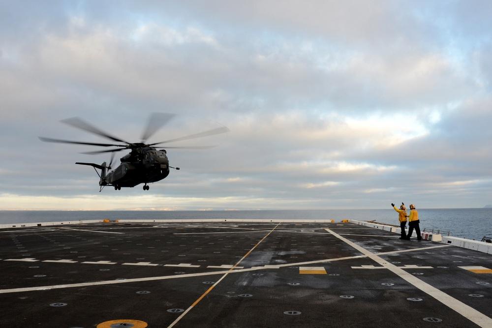 USS Anchorage departs for RIMPAC, San Diego