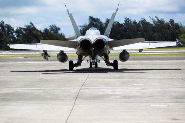 VMFA-122 trains with fifth generation fighters