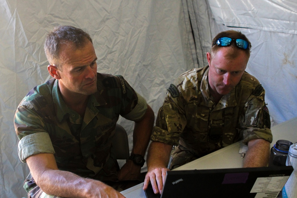 Royal Marines participate in LSE 14