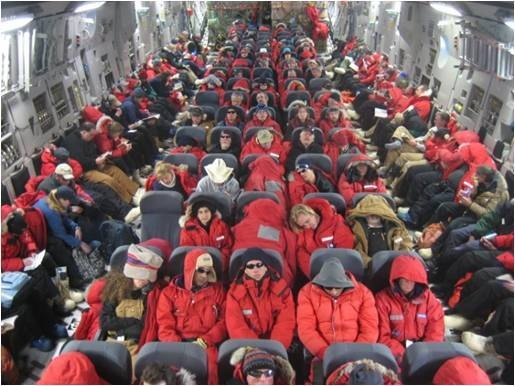 McChord Airmen back in action supporting Operation Deep Freeze