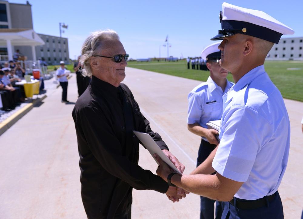 Kris Kristofferson attends son's Coast Guard graduation
