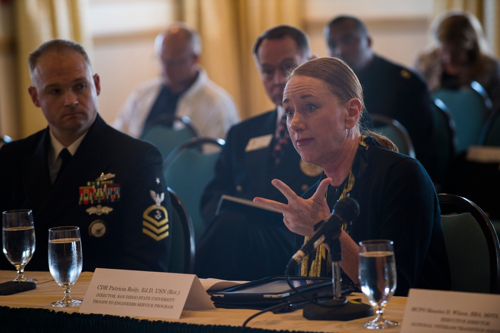 Military Compensation and Retirement Modernization Commission (MCRMC) public hearing