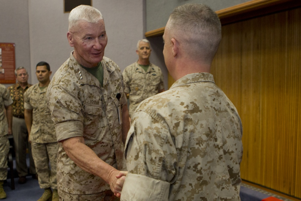 Krulak Gets Promoted To Captain