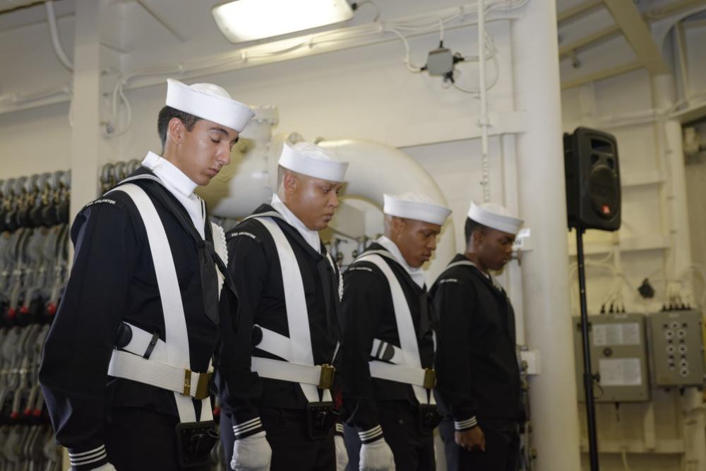 At sea, USS Arlington remembers Sept. 11
