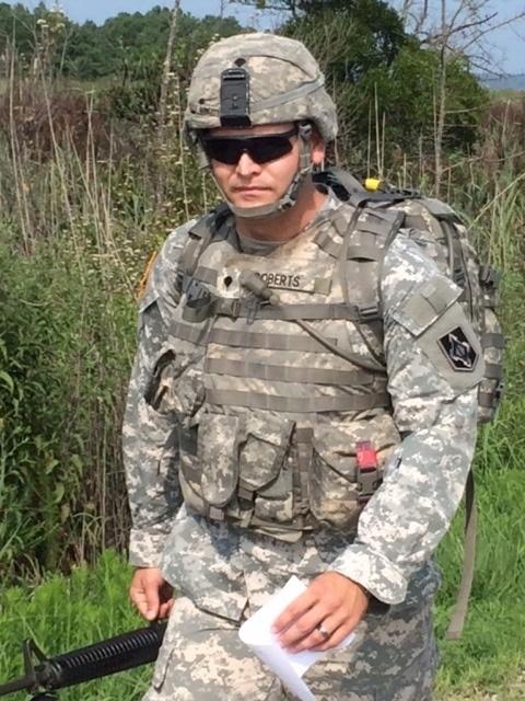 Best Warrior 2014 Spc. Joshua Roberts