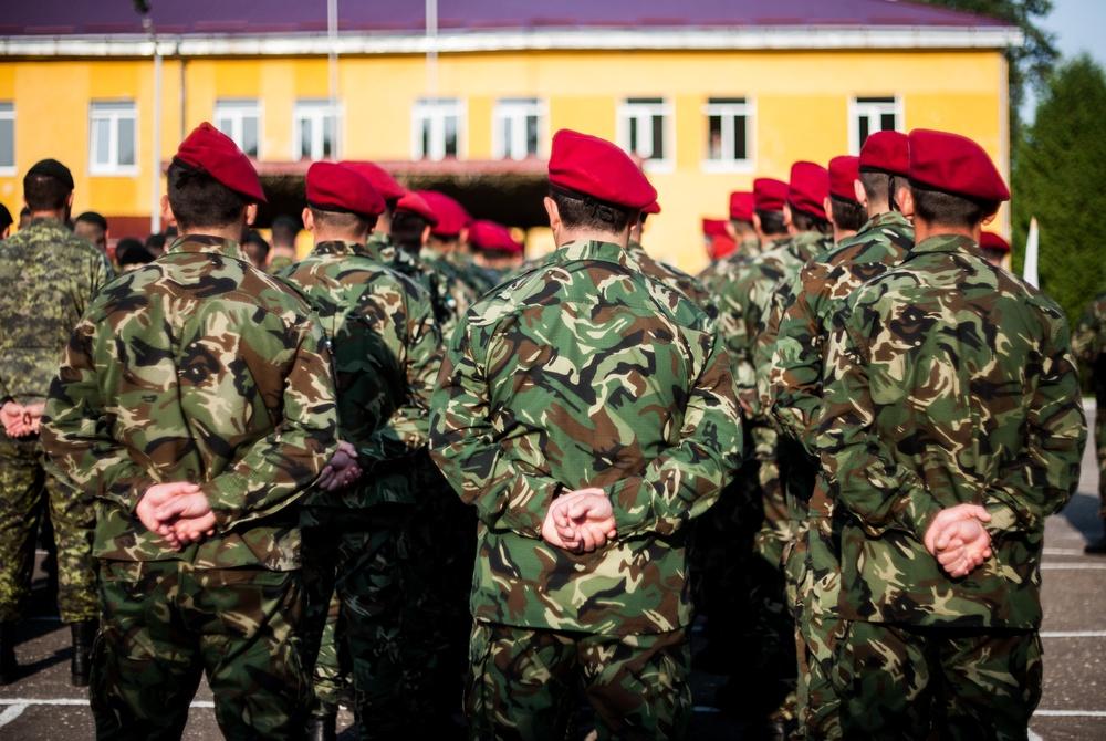 Moldovan soldiers