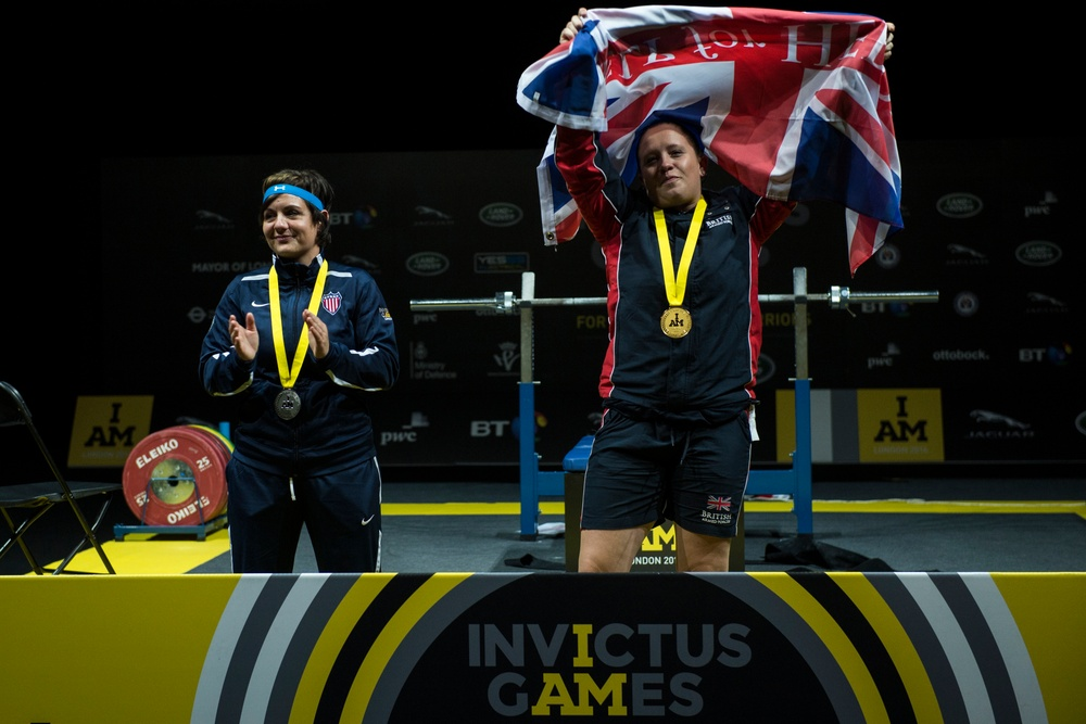 Powerlifting at Invictus Games