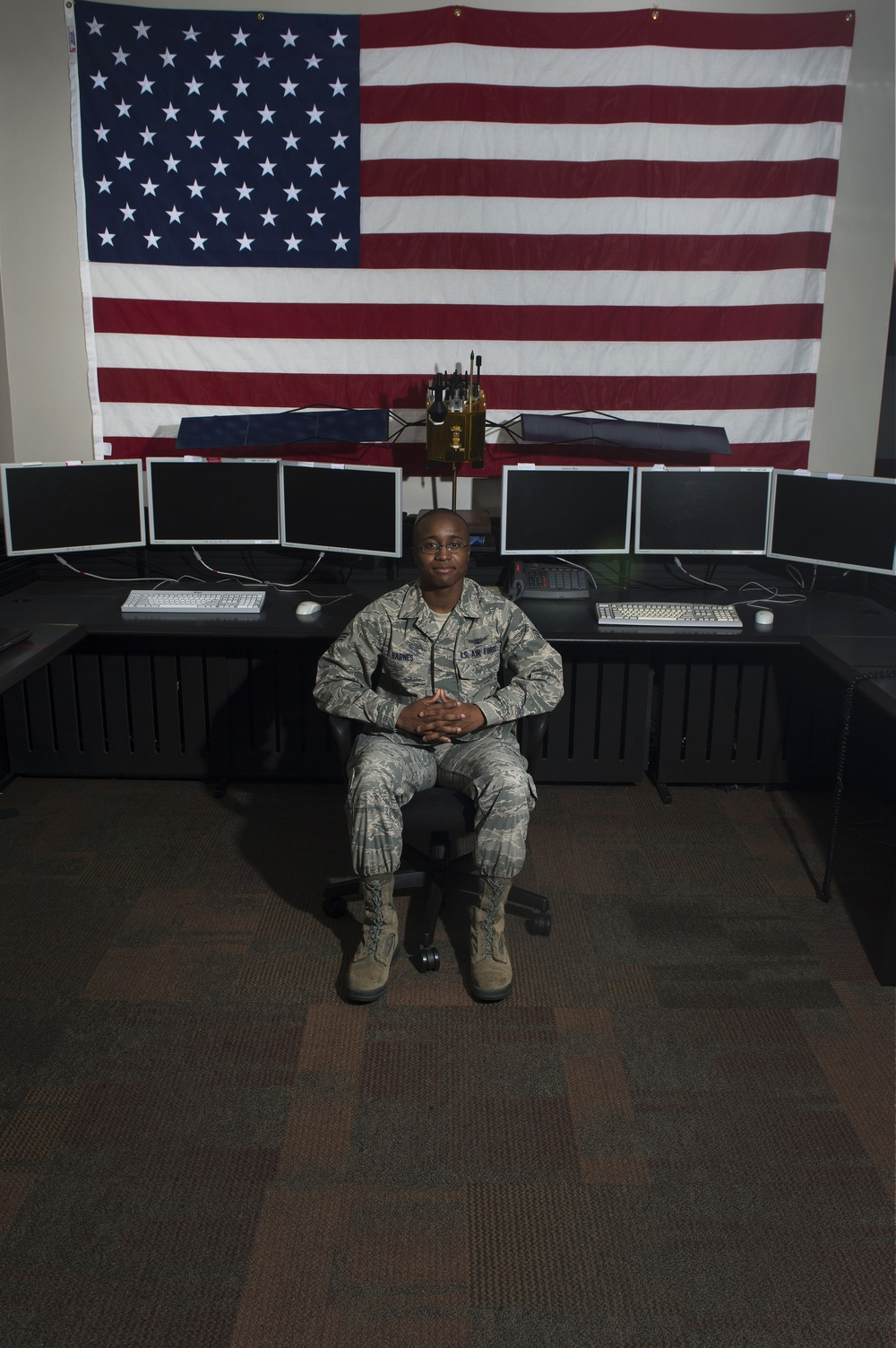 30 days with space and cyber Airmen