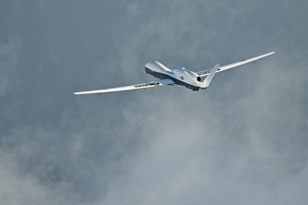 Navy's Triton unmanned aircraft completes 1st cross-country flight