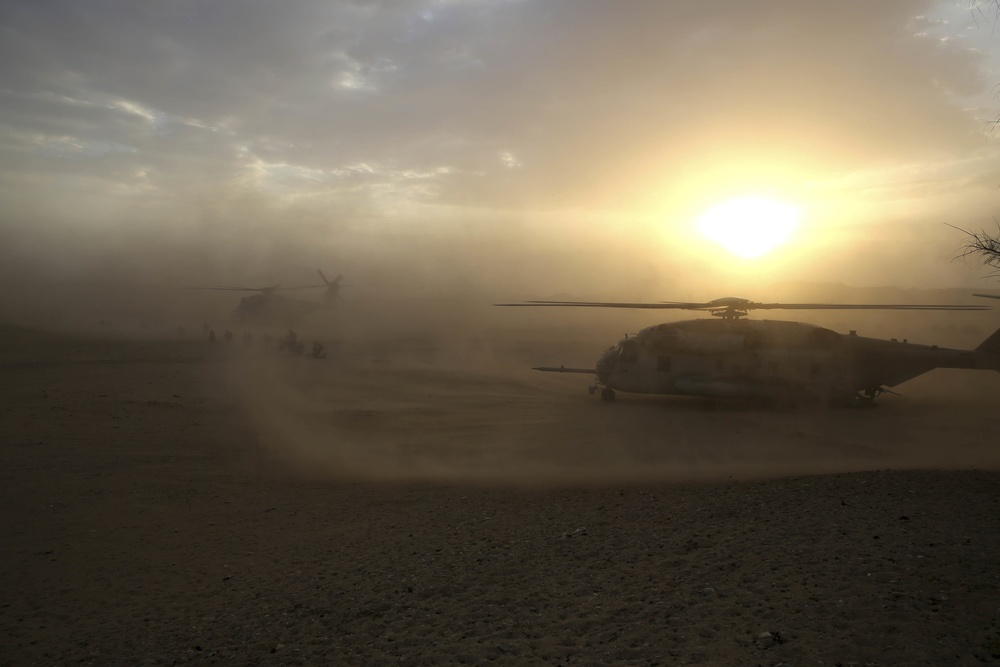Bravo Company, Weapons Company conclude missions in Helmand province, Afghanistan