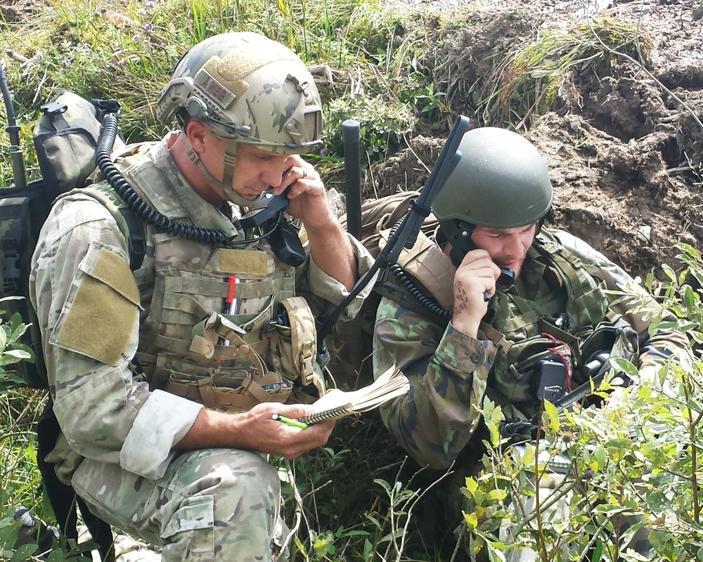 147th ASOS supports Czech Republic in Ample Strike 2014 through Guard's State Partnership Program