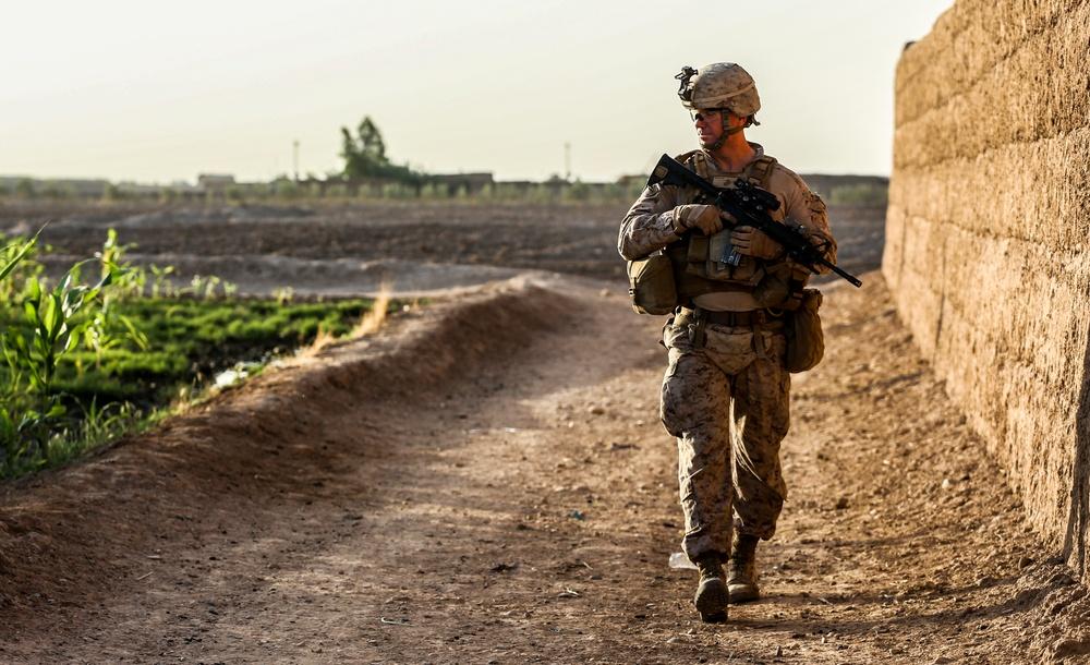 3rd Platoon Bravo Company Security Patrol