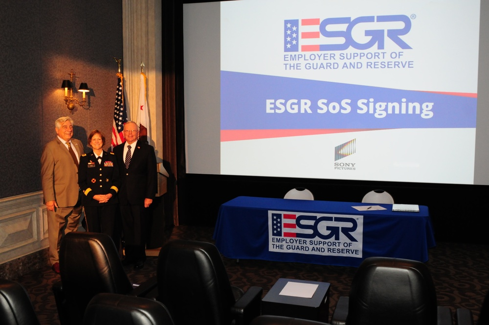 ESGR Statement of Support Signing with Sony Pictures Entertainment