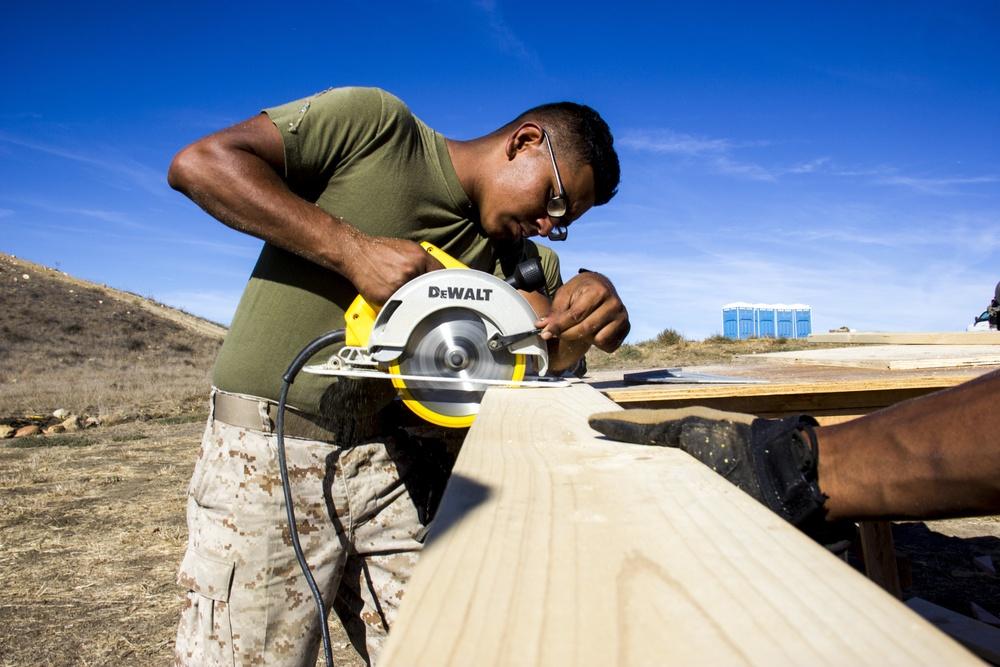 MWSS 373 Marines build up for PH-15