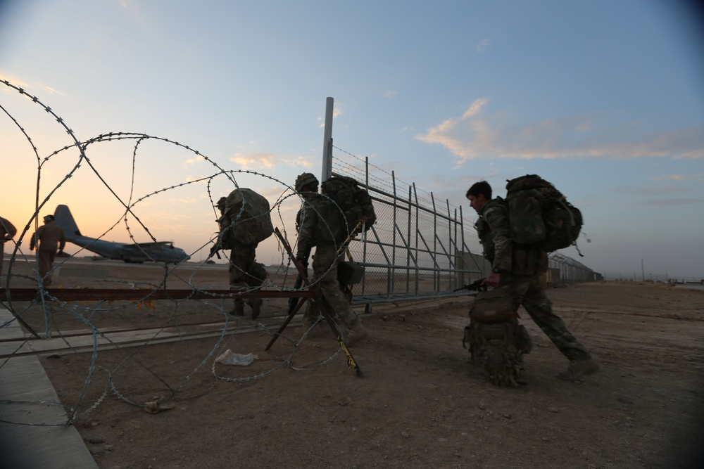 RC(SW) departs Helmand province