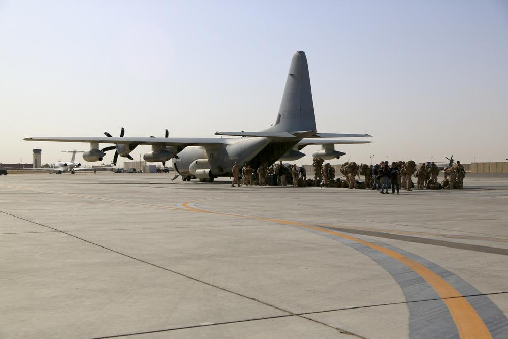 RC(SW) Arrives at Kandahar Airfield