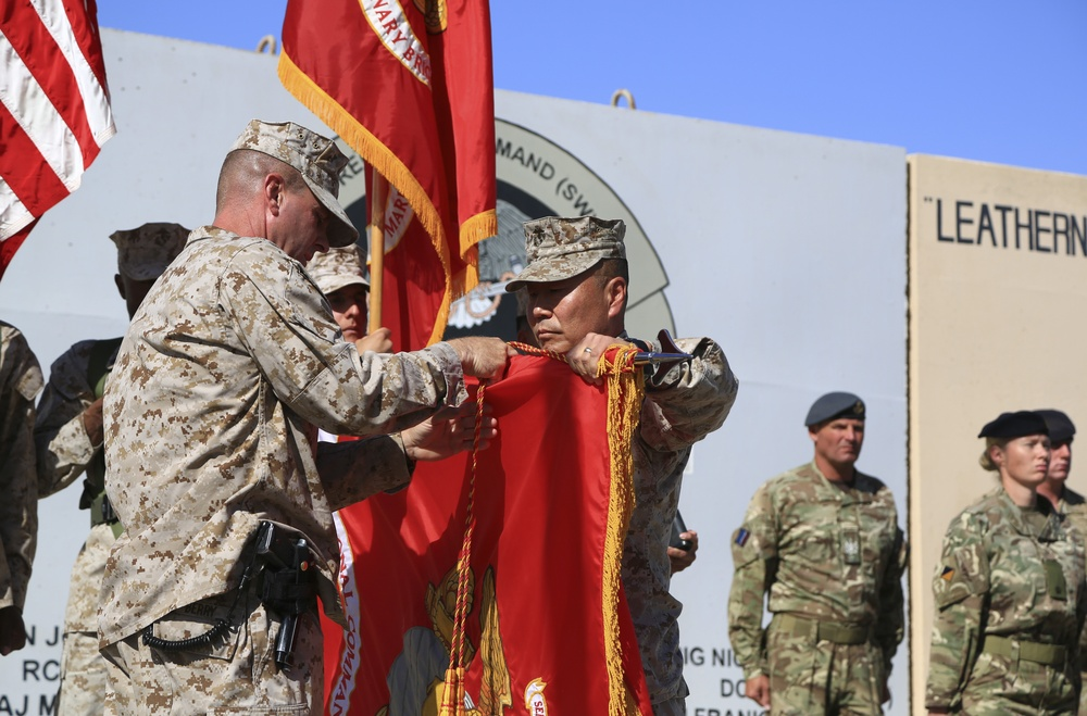 Regional Command Southwest ends mission in Helmand, Afghanistan