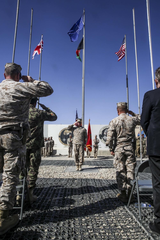 1st Battalion 2nd Marine Regiment bids farewell to Helmand province