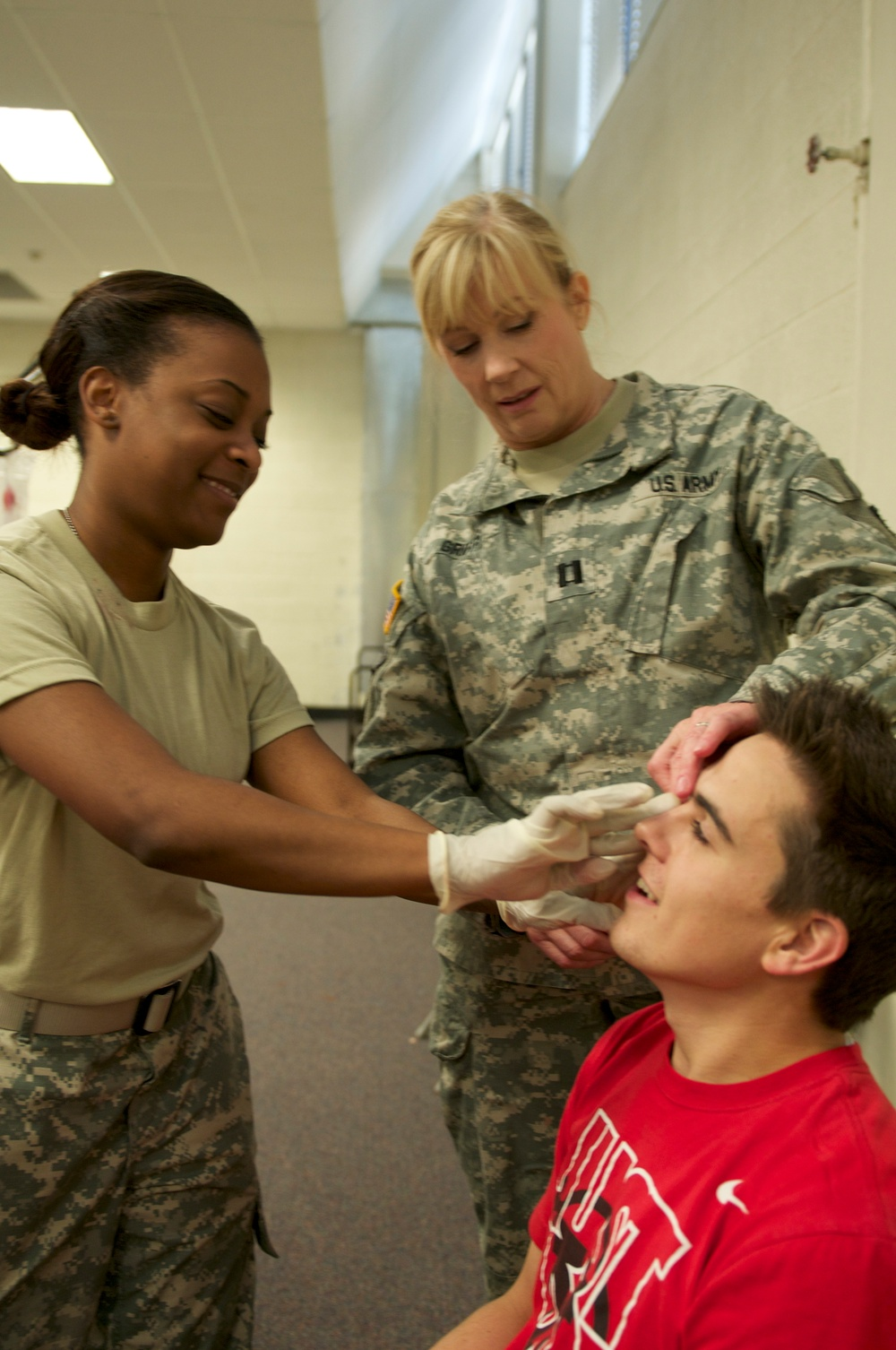 Ready, Set, Makeup: Moulage in earthquake preparedness
