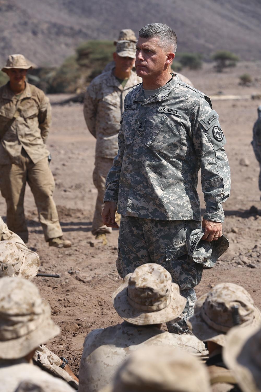 11th MEU Djibouti Sustainment Training: 239th USMC Birthday