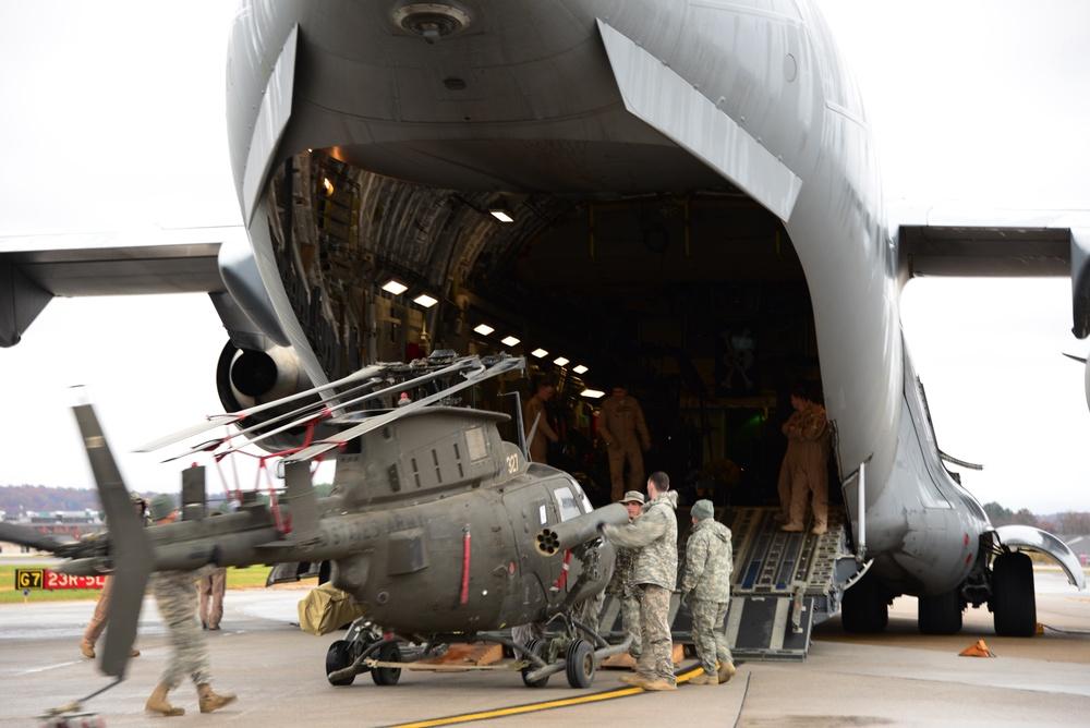 Tennessee Army National Guard Kiowas return from Afghanistan