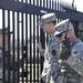 Military police keep the peace during Vigilant Guard