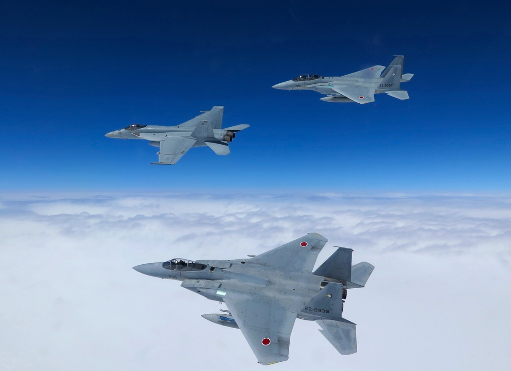 VFA-27 improves readiness with Japan Air Self-Defense Force