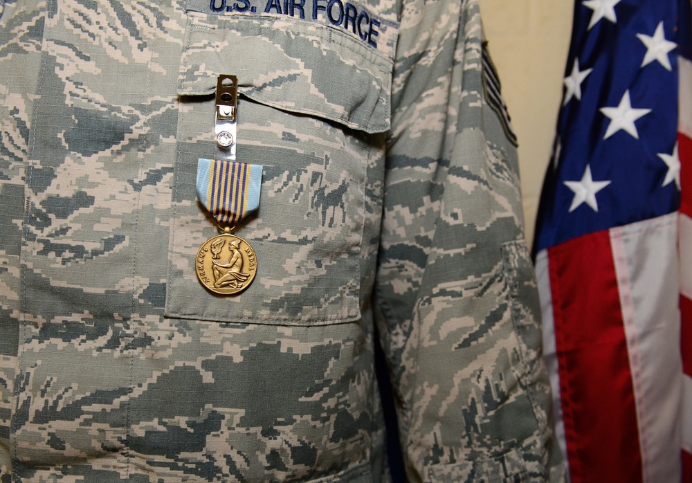 Liberty Airman rescued allies, earned Airman's Medal