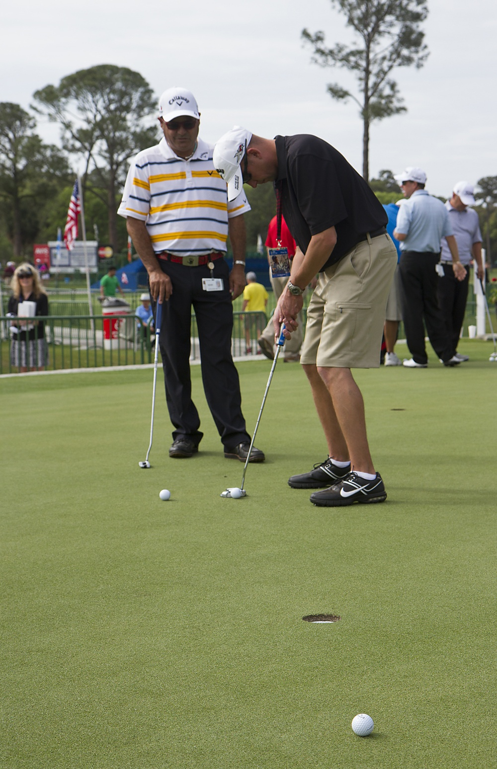 Callaway helps Wounded Warriors heal with gift of golf