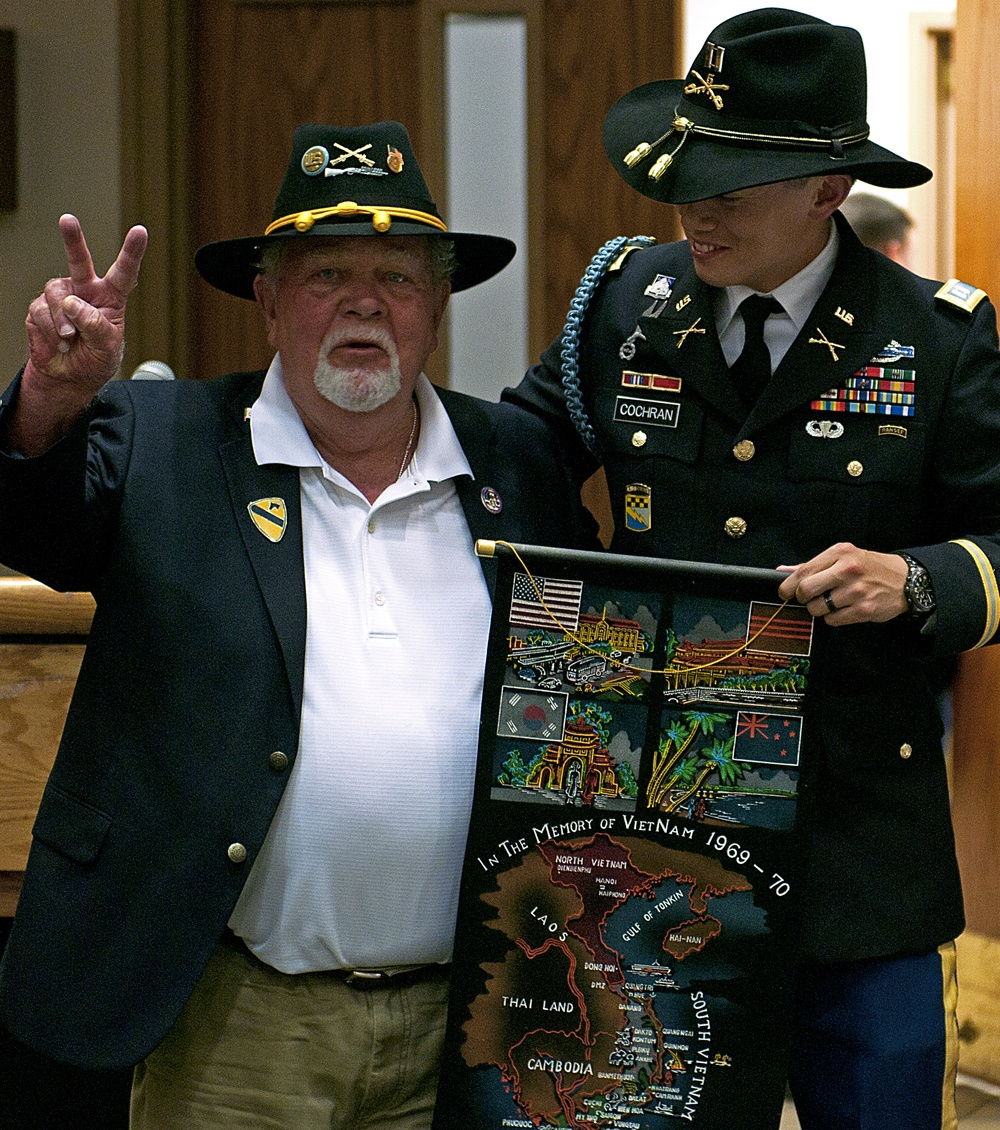 Reuniting Vietnam vets with 1st Cavalry Division battalion