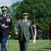 Japan Ground Self-Defense Force Gen. Kiyofumi Iwata visits with US Army Chief of Staff Gen. Ray Odierno