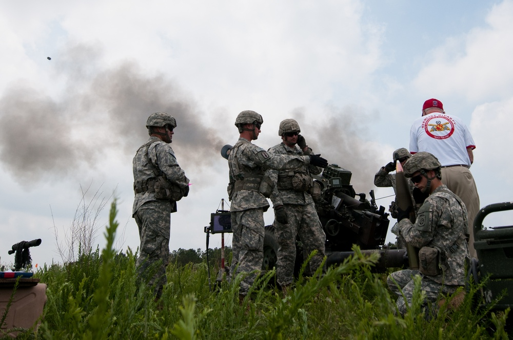 82nd Airborne Division conducts review with airborne assault demonstration