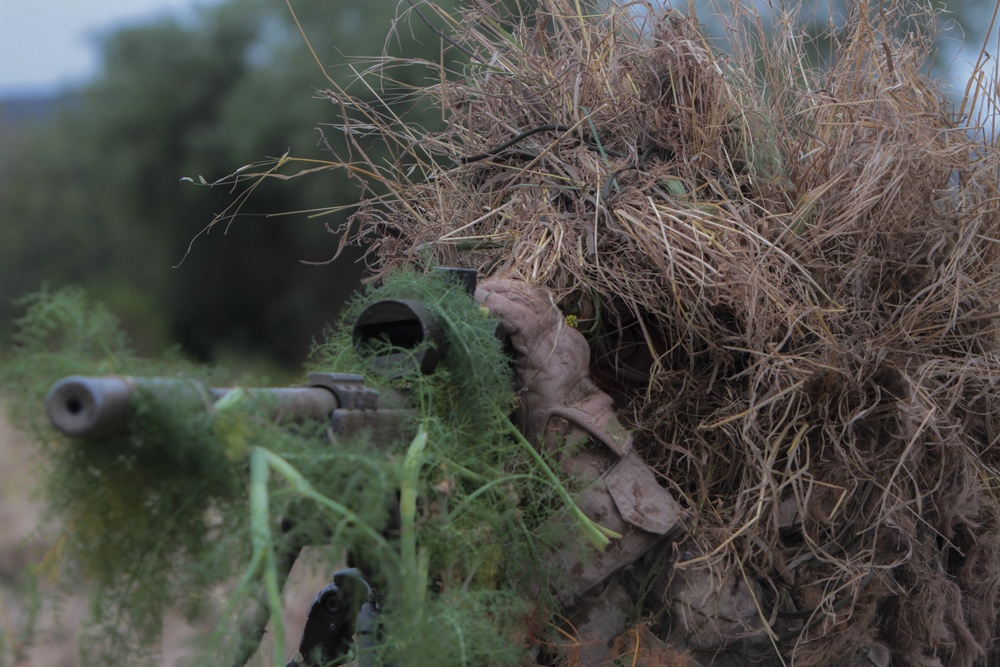1/7 Attend Pre-Scout Sniper Course