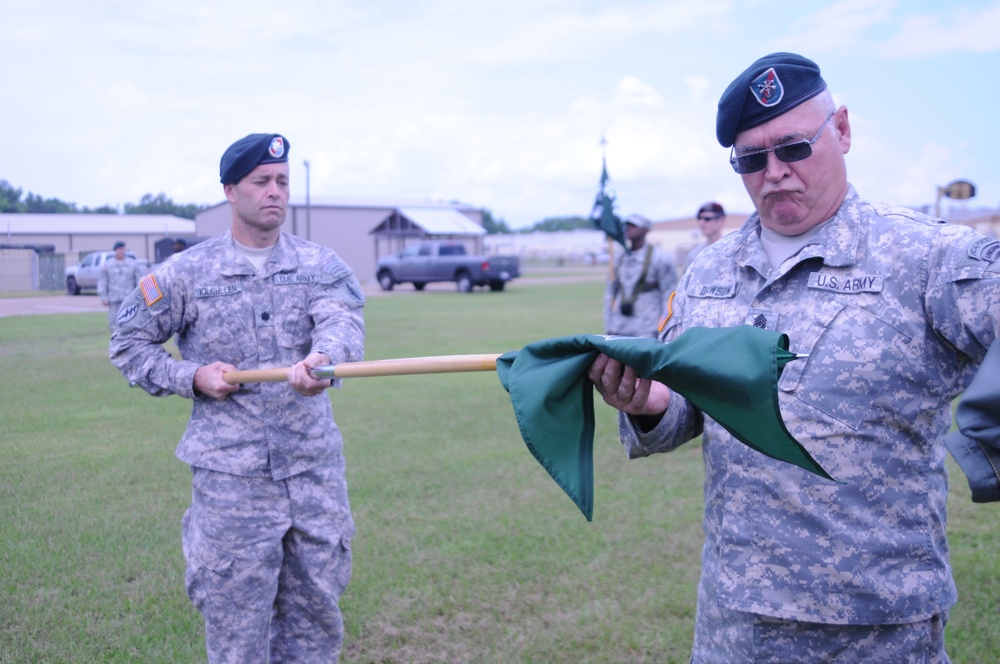 New unit activates at Camp McCain